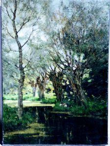 Arnold Marc Gorter (1866 - 1933) Ostniederlande.