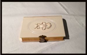 Ivory Covered Book, 1864