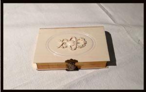 Buch mit Elfenbein-Umschlag, 1864