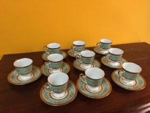 coffee service 'by 10 German cups