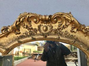 : Crespina Molaroni Francesco early 900, blue signature PESARO !!