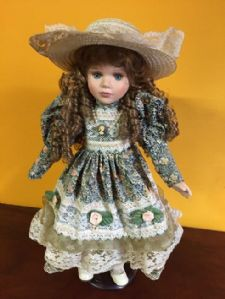 ceramic bisque doll collector