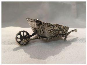 儿童银色独轮车/玩具,19世纪