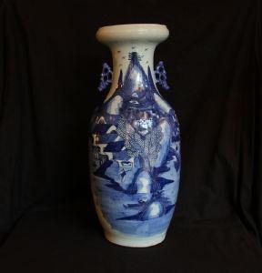 Grande vaso cinese in terracotta, XIX° secolo