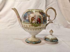 瓷器茶具,19世纪