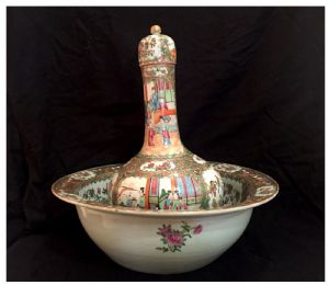 Set di porcellane Canton, XIX° secolo