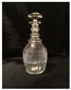 Crystal carafe St. Louis Trianon Model, XXth Century