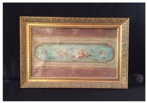 Estudio del techo, óleo sobre lienzo, siglo XIX.