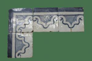 Antico bordo di azulejos