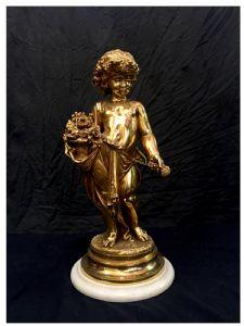 Querubim-dourado por Boyer, século XIX