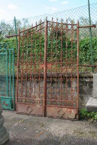Cancello in ferro.