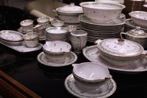 French porcelain tableware French Limoges mid-900 france