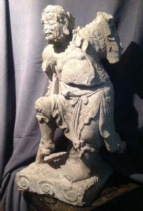 SCULTURA CINESE RAFFIGURANTE -LI TIEGUAI -DINASTA MING (1368-1644)