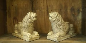 Pair of lions. Italy Sec XII- XIII