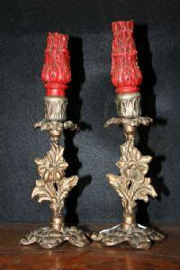 Candelabri in bronzo