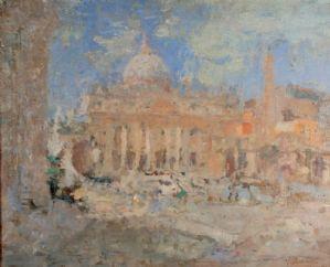 Roma, Piazza San Pietro, 1927