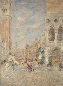 Venezia, Piazza San Marco, 1947