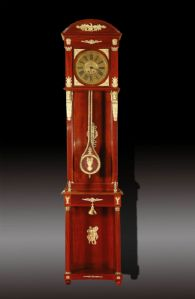 IMPORTANT PENDULUM CLOCK IN A LONG CASE OF THE FIRST