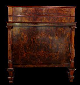 Letti antichi mobili antichi antiquariato su anticoantico - Letto singolo lunghezza 210 ...