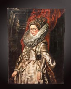PORTRAIT OF BRIGIDA SPINOLA DORIA (taken by Peter Paul Rubens - Siegen, 1577 - Antwerp, 1640)