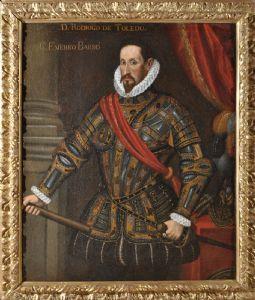 Portrait of Don Rodrigo De Toledo