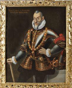 Porträt von Don Carlo D'Aragona