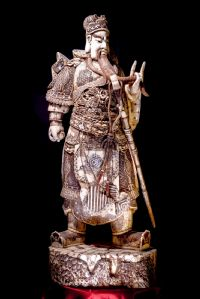 Samurai in ivory. Japan Sec XIX