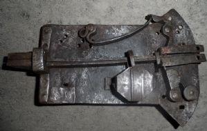 Antica serratura piemontese