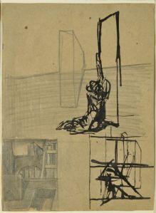 Study for the suburbs, 1922