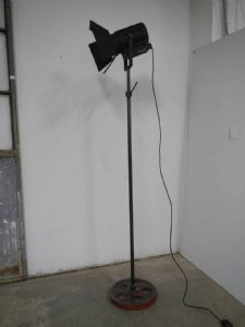lampada da cinema anni 50