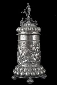 silver tankard Germany late eighteenth century