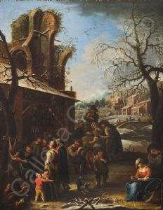 Pietro Domenico Olivero (Ollivero, Turin 1679-1755) - Spring / Summer / Autumn / Winter