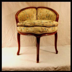 Piccola sedia da ufficio / toletta, Napoleon III