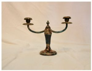 Jaspis Bronze Art Deco Kandelaber, 20. Jahrhundert