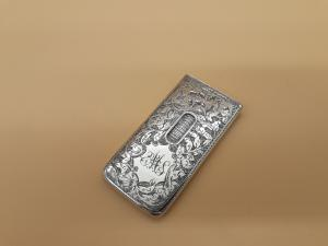 Porta bigliettini da visita in argento