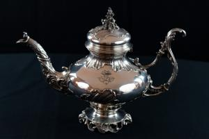 Teiera in argento