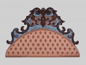 Lacquered headboard