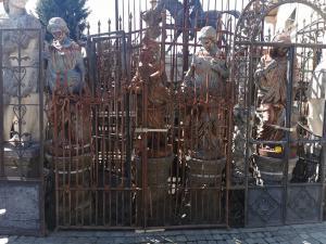 ancient iron gate