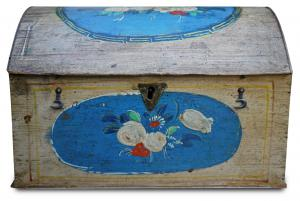 Beautiful painted table box