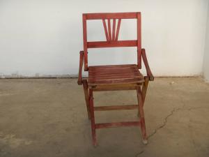 70年代的儿童木椅