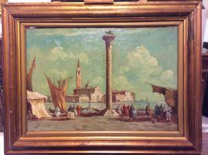 Venedig von der Piazza San Marco aus gesehen.