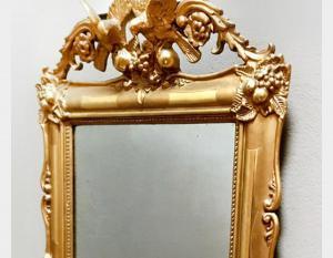 Specchiera antica in legno Art 1640