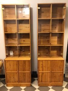 Paar Sideboards aus Holz