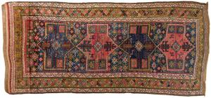 Persian carpet GUCIAN of old manufacture - n. 666