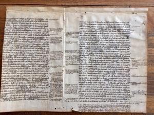 Pergamena da Aristoteles, Topica