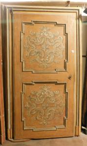 porta lacada ptl340 com moldura, tamanho máximo 143 xh 240 com moldura