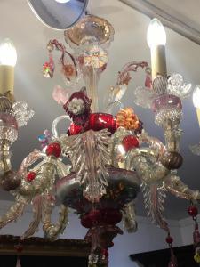 Rezzonico Murano玻璃枝形吊灯6火焰