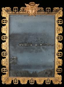 Specchiera in bronzo