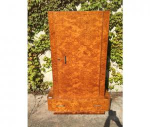 Antique Wardrobe with an Art Deco
