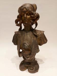 Henri Iacobs busto Art Nouveau 1904